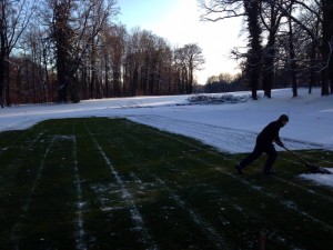 Greenkeeping 12 Winter