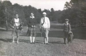 1928 Historisches Golfspiel 1