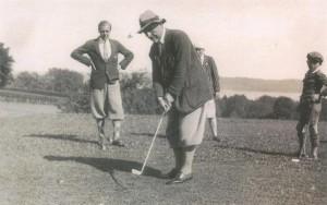 1928 Historisches Golfspiel 2