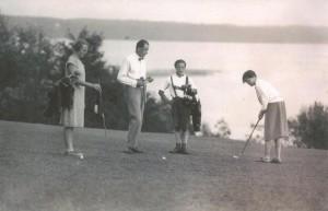 1928 Historisches Golfspiel 3