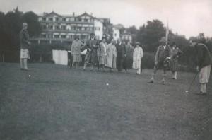 1928 Historisches Golfspiel 4