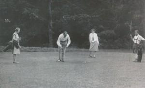 1928 Historisches Golfspiel 6